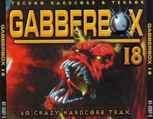 VA - The Gabberbox 18 - 60 Crazy Hardcore Trax (2001)