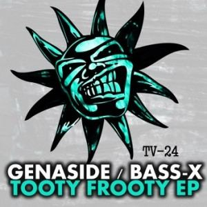 Genaside feat Bass X - Tooty Frooty EP (1996)