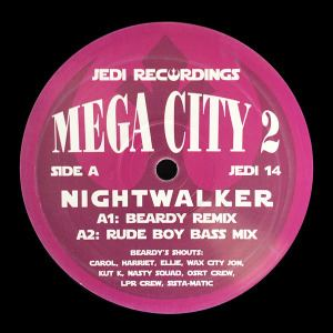 Mega City 2 - Nightwalker / Amazon (Remixes) (2016)