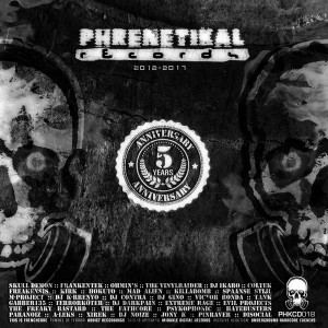 VA - Phrenetikal Records: 5th Anniversary (2012-2017)