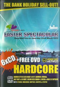 VA - Slammin' Vinyl Presents Easter Spectacular (Hardcore Collection) DVD (2008)