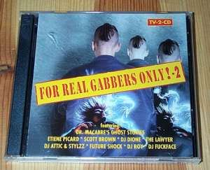 VA - For Real Gabbers Only! - 2 (1997)