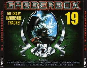 VA - The Gabberbox 19 - 60 Crazy Hardcore Tracks! (2001)