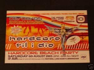VA - Live at HTID Event 10 the Hardcore Beach Party (2005)