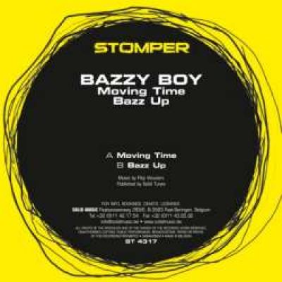 Bazzy Boy - Moving Time / Bazz Up (2008)