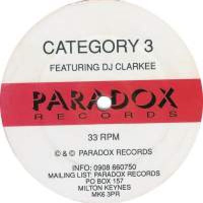Category 3 Featuring DJ Clarkee - Out Of The Darkness (1993)