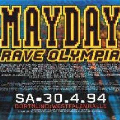 Mayday - The Raving Society (We Are Different) VHS (1994)