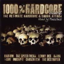 VA - 1000% Hardcore Volume 2 - The Ultimate Hardcore & Gabber Attack (2007)