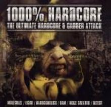 VA - 1000% Hardcore - The Ultimate Hardcore & Gabber Attack (2006)