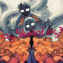 t+pazolite / RoughSketch - 108 Sketches 3 (2013)