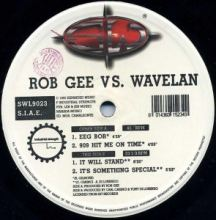Rob Gee Vs. Wavelan - Industrial Strength Ep (1995)
