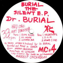 Dr. Burial - Burial The Silent EP (2000)