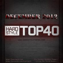 Fear FM Hardstyle Top 40 December 2012