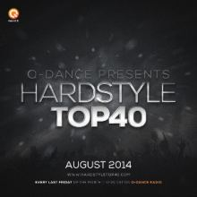Q-Dance Hardstyle Top 40 August 2014
