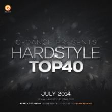 Q-Dance Hardstyle Top 40 July 2014