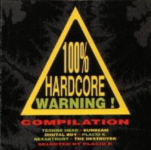 VA - 100% Hardcore Warning! Compilation (1995)