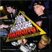 VA - 100% Hardcore Warning Compilation - Summer Edition (1998)