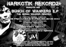 Tripped - A Bunch Of Wankers E.P. - The Serial Wanker Remixes (2012)
