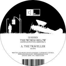 DJ Hidden - The Words Below Limited Vinyl Series Part 2 (2009)