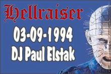 Dj Paul Elstak Live At Hellraiser - The Religion (1994)