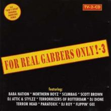VA - For Real Gabbers Only! - 3 (1997)