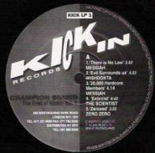 VA - Champion Sound (The Best Of Kickin Records Volume One) (1991)