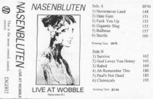 Nasenbluten - Live At Wobble (1993)