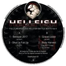 Hellfish - Fully Weaponized Hellfish Battle Beats Vol. 4 (2017)