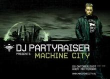 DJ Partyraiser - Presents Machine City DVDAudio (2008)