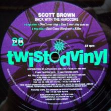Scott Brown - Back With The Hardcore (1996)