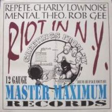 Rob Gee, Repete & MC Romeo Romeo - Riot In N.Y. (1994)