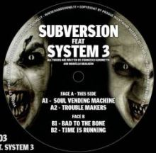 Subversion feat System 3 - Bad To The Bone PNR-03 (2011)