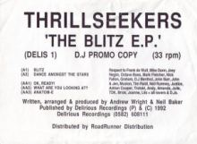 Thrillseekers - The Blitz E.P. (1992)